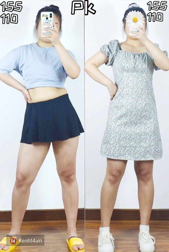Thấp bé và béo bụng nhưng cô nàng này đã tìm ra kiểu váy hack dáng hiệu nghiệm, làm vô hình nhược điểm vòng 2 - Ảnh 4.