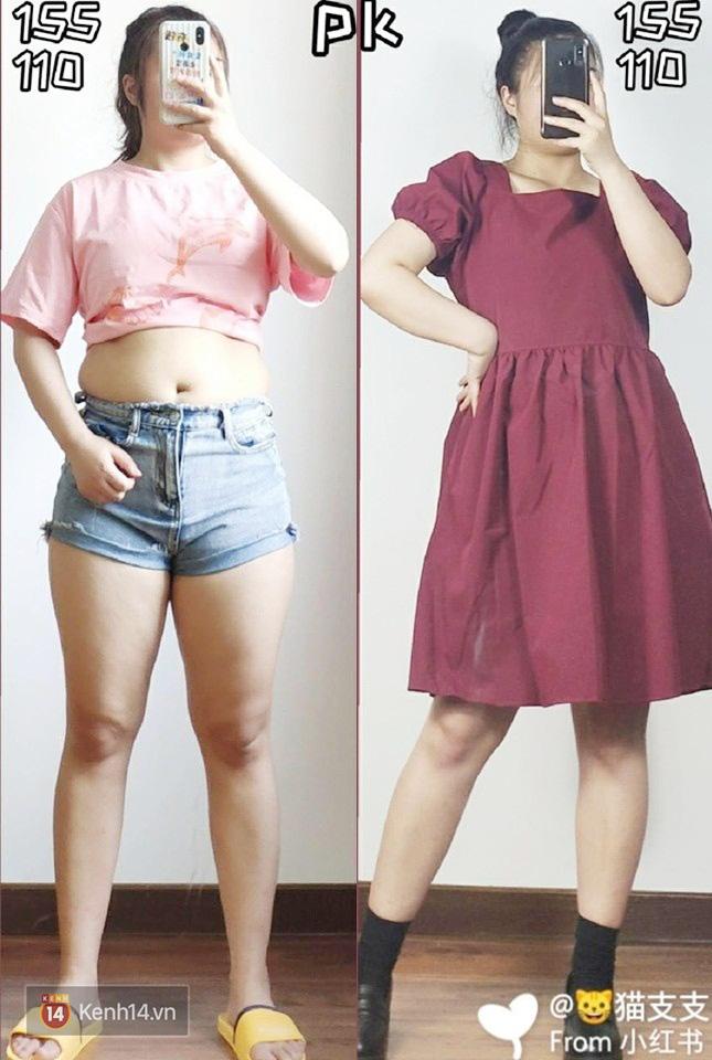 Thấp bé và béo bụng nhưng cô nàng này đã tìm ra kiểu váy hack dáng hiệu nghiệm, làm vô hình nhược điểm vòng 2 - Ảnh 2.