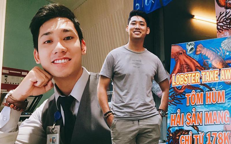 Dứt áo ra đi khỏi công việc sân bay vạn người mê, chàng hot boy chuyển hướng kinh doanh tôm hùm nức tiếng Sài Gòn kiếm hàng trăm triệu/tháng - Ảnh 1.