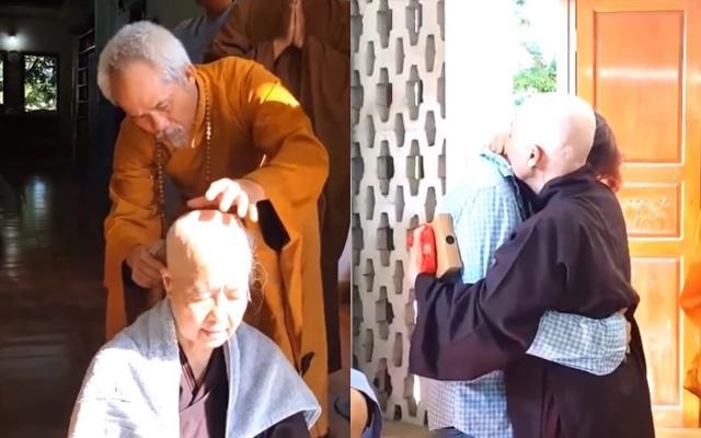 Tròn 1 năm nghệ nhân ẩm thực Nguyễn Dzoãn Cẩm Vân xuất gia, nghẹn lòng xem lại cảnh cô xuống tóc với thần thái an yên nhưng vẫn khiến người thân không khỏi xúc động