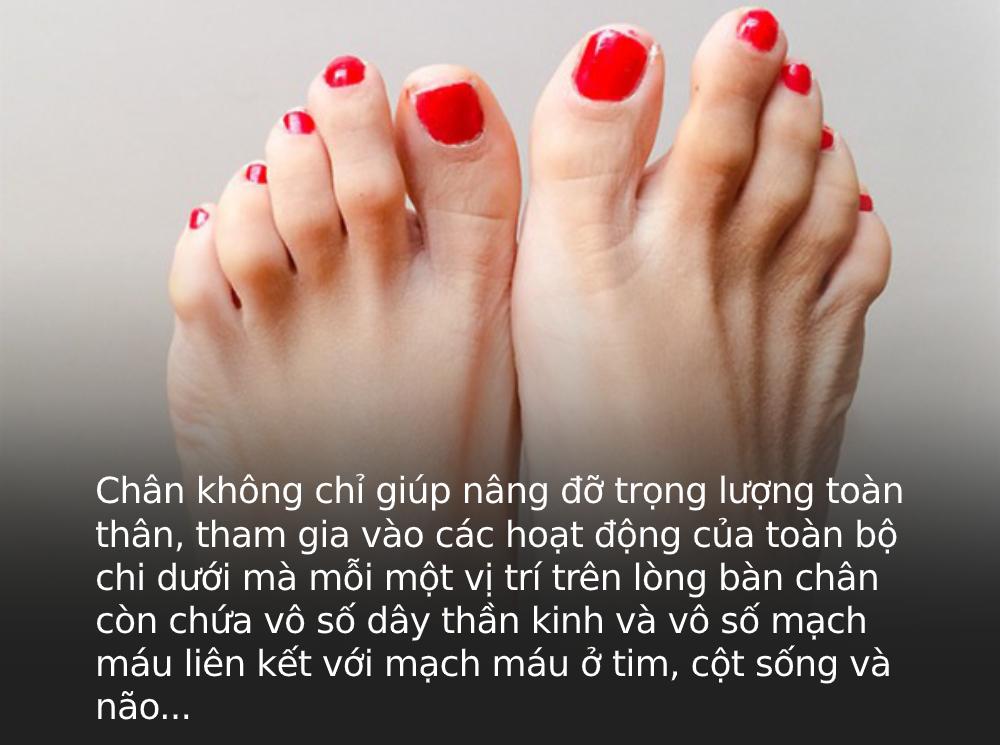 """Bàn chân là """"bộ não thứ 2"""" của cơ thể: Nếu có 3 sự thay đổi này ở chân, coi chừng nhiều cơ quan nội tạng đang """"kêu cứu"""" - Ảnh 1."""
