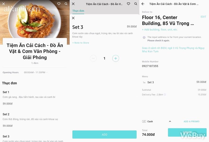 """Trải nghiệm 1 ngày 3 bữa với app gọi đồ ăn Baemin ở Hà Nội: Ngon có, dở có, lỗi còn nhiều nhưng quan trọng vẫn là cả """"rổ"""" khuyến mãi - Ảnh 4."""