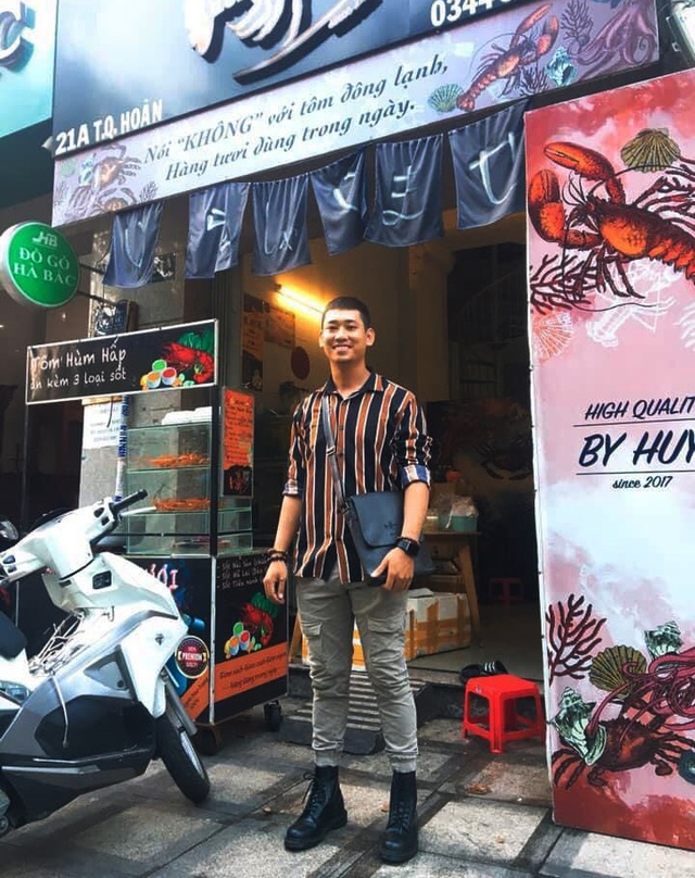 Dứt áo ra đi khỏi công việc sân bay vạn người mê, chàng hot boy chuyển hướng kinh doanh tôm hùm nức tiếng Sài Gòn kiếm hàng trăm triệu/tháng - Ảnh 3.