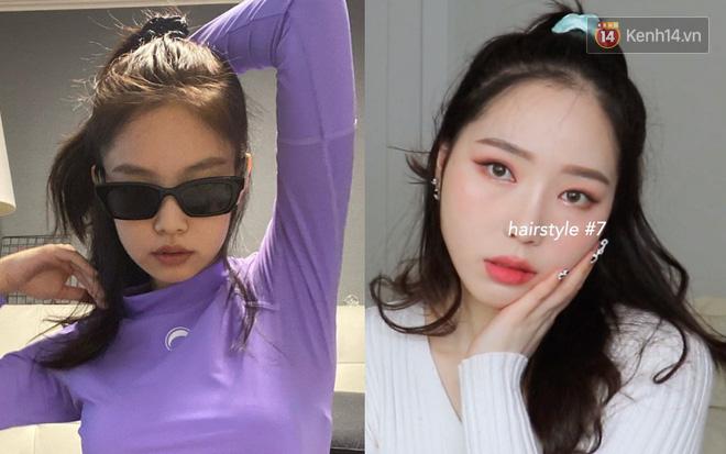 Jennie có 8 kiểu tóc ruột cực xinh và trendy, quan trọng là siêu dễ làm chị em nào cũng bắt chước được  - Ảnh 9.