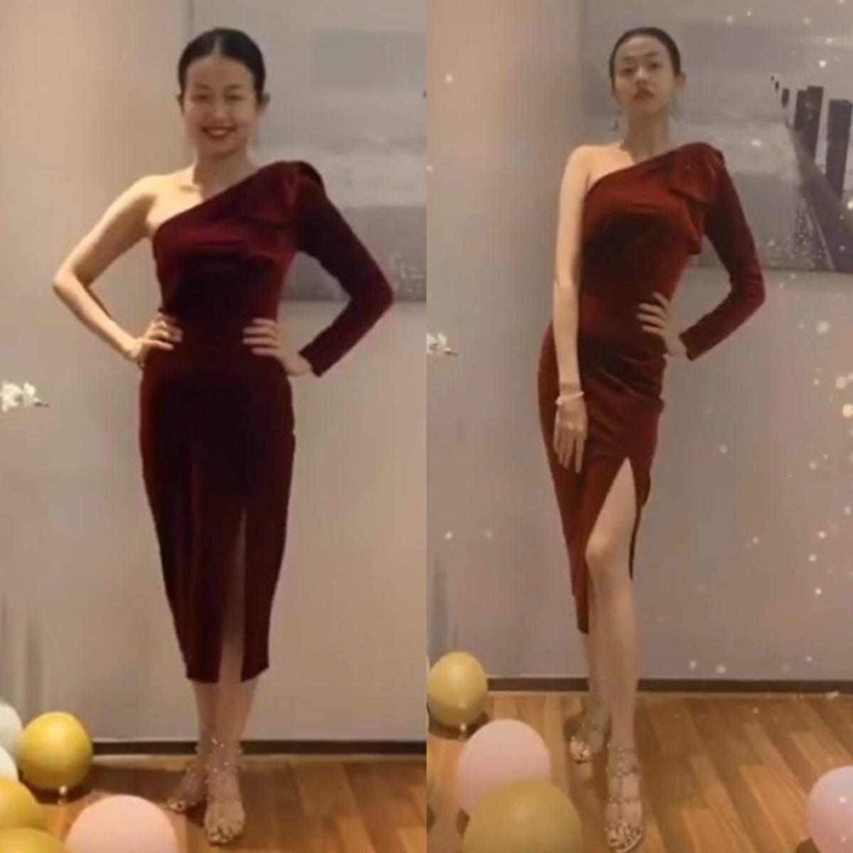 Đến Ngọc Trinh mà không áp dụng thủ thuật tạo dáng này thì điểm sexy cũng vơi đi phân nửa khi diện váy xẻ vạt - Ảnh 1.