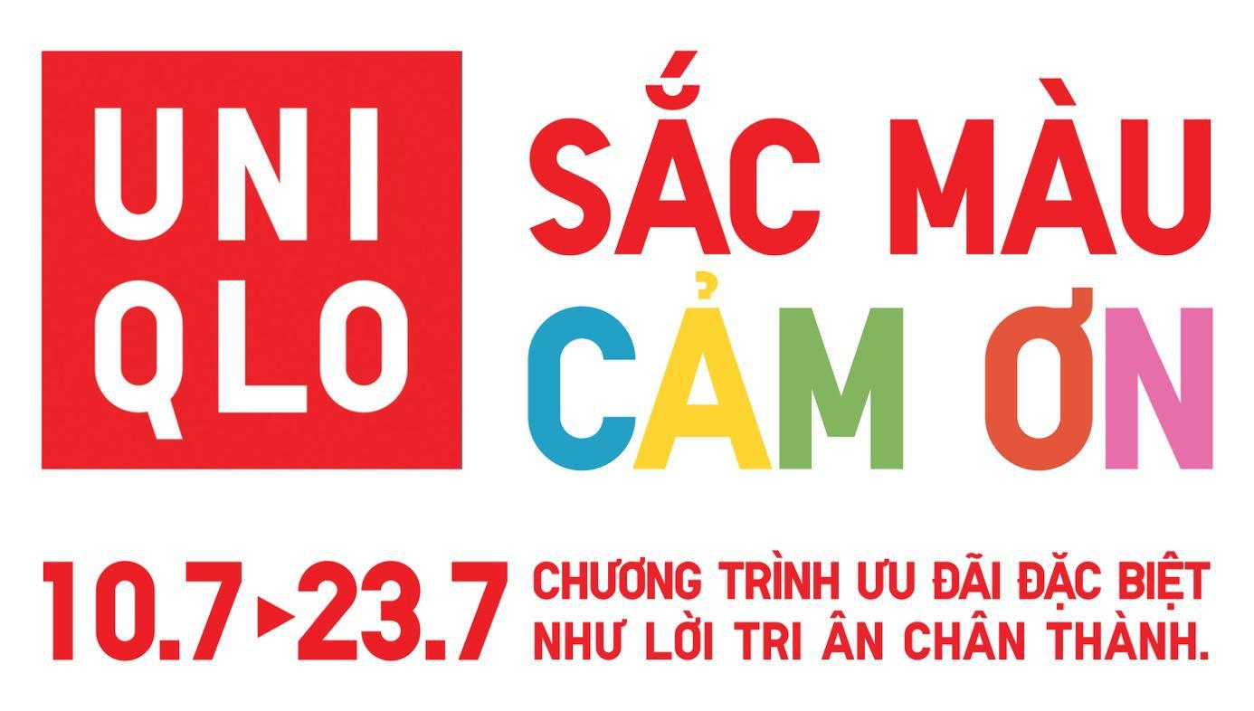 Đếm ngược ngày đến chương trình tri ân khách hàng Việt Nam Sắc màu cảm ơn của UNIQLO - Ảnh 1.