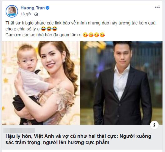 """Vợ cũ Việt Anh """"cà khịa"""" ngoại hình xuống dốc thê thảm của nam diễn viên sau ly hôn? - Ảnh 2."""