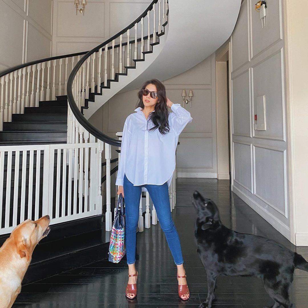Từ chỗ bị chê tơi tả, nay Hà Tăng đã có thể tự tin diện skinny jeans khiến ai cũng phải trầm trồ - Ảnh 2.