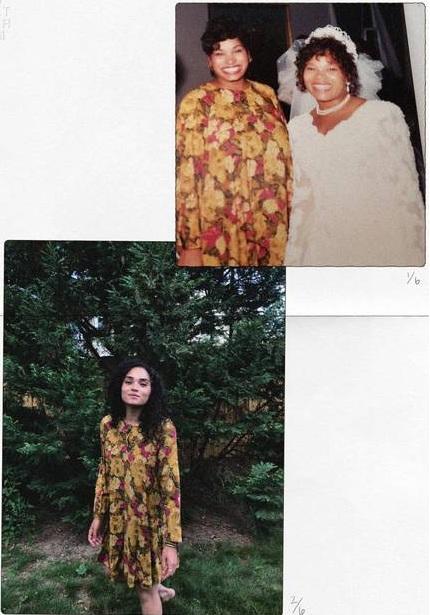 Mặc lại đồ cũ của mẹ từ 20 năm trước, nàng BTV nhận được cái kết bất ngờ không tưởng - Ảnh 2.