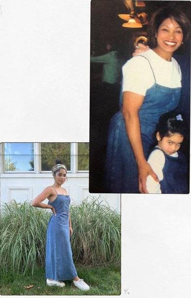 Mặc lại đồ cũ của mẹ từ 20 năm trước, nàng BTV nhận được cái kết bất ngờ không tưởng - Ảnh 1.