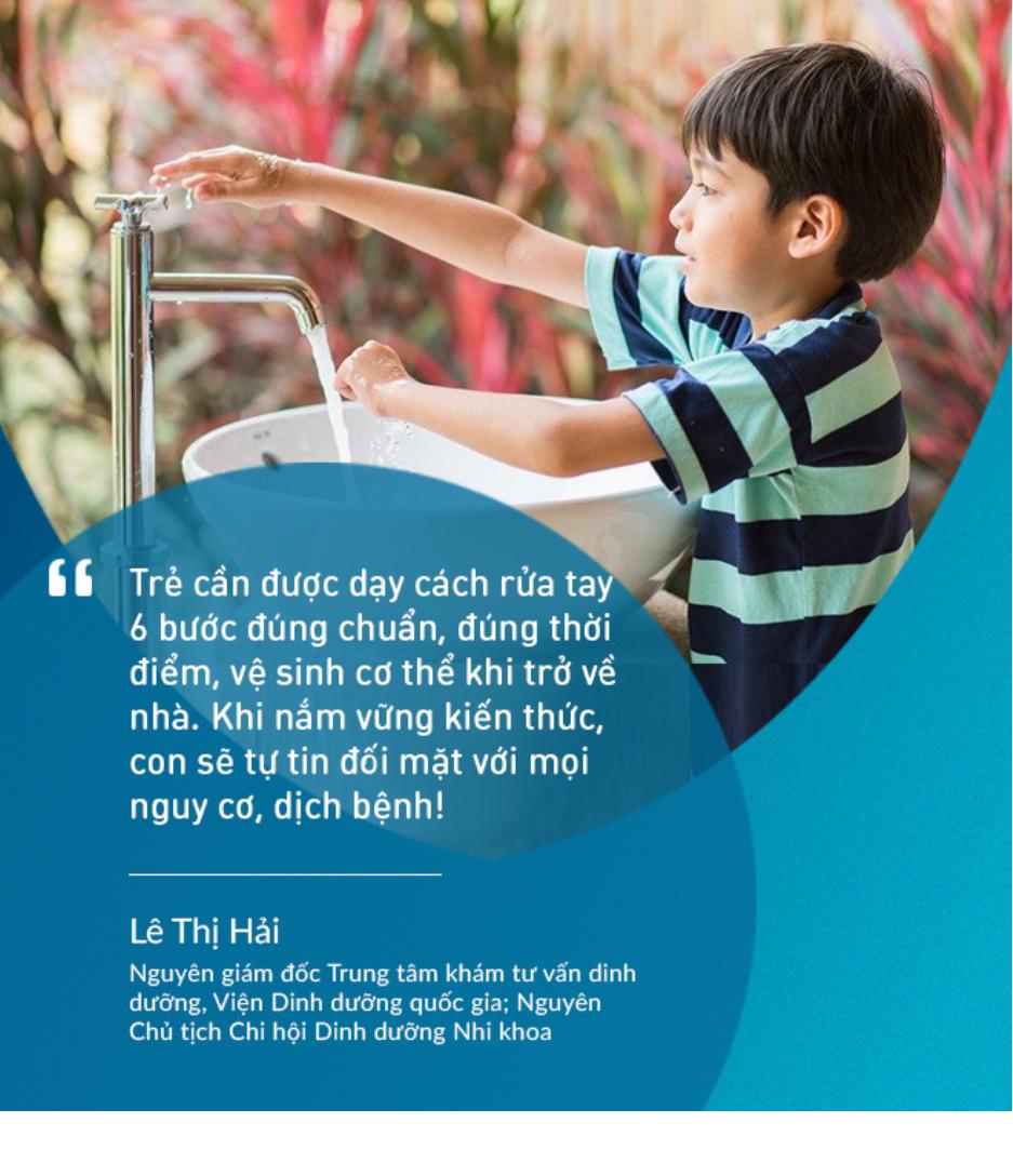 """Nguyên giám đốc Trung tâm khám tư vấn dinh dưỡng, Viện Dinh Dưỡng quốc gia """"gỡ rối"""" cho bố mẹ về cách dạy con kỹ năng sống mạnh mẽ - Ảnh 3."""