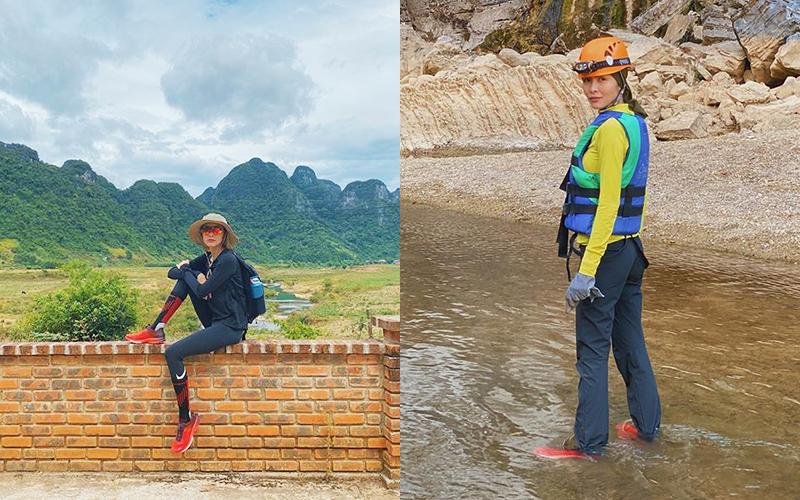 Du lịch Quảng Bình năm nay đang là mốt, đến ngọc nữ Tăng Thanh Hà cũng không cưỡng lại được sức hút ở nơi đây