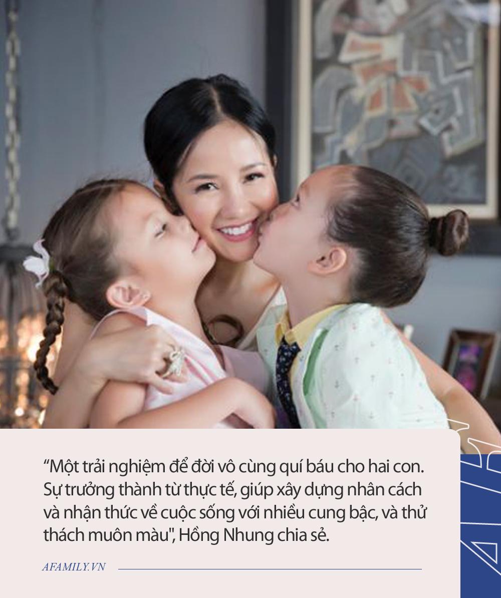 Các con của Hồng Nhung có phản ứng cực đáng yêu khi đi cách ly tập trung, ai cũng khen bà mẹ diva dạy con chuẩn chỉnh - Ảnh 4.