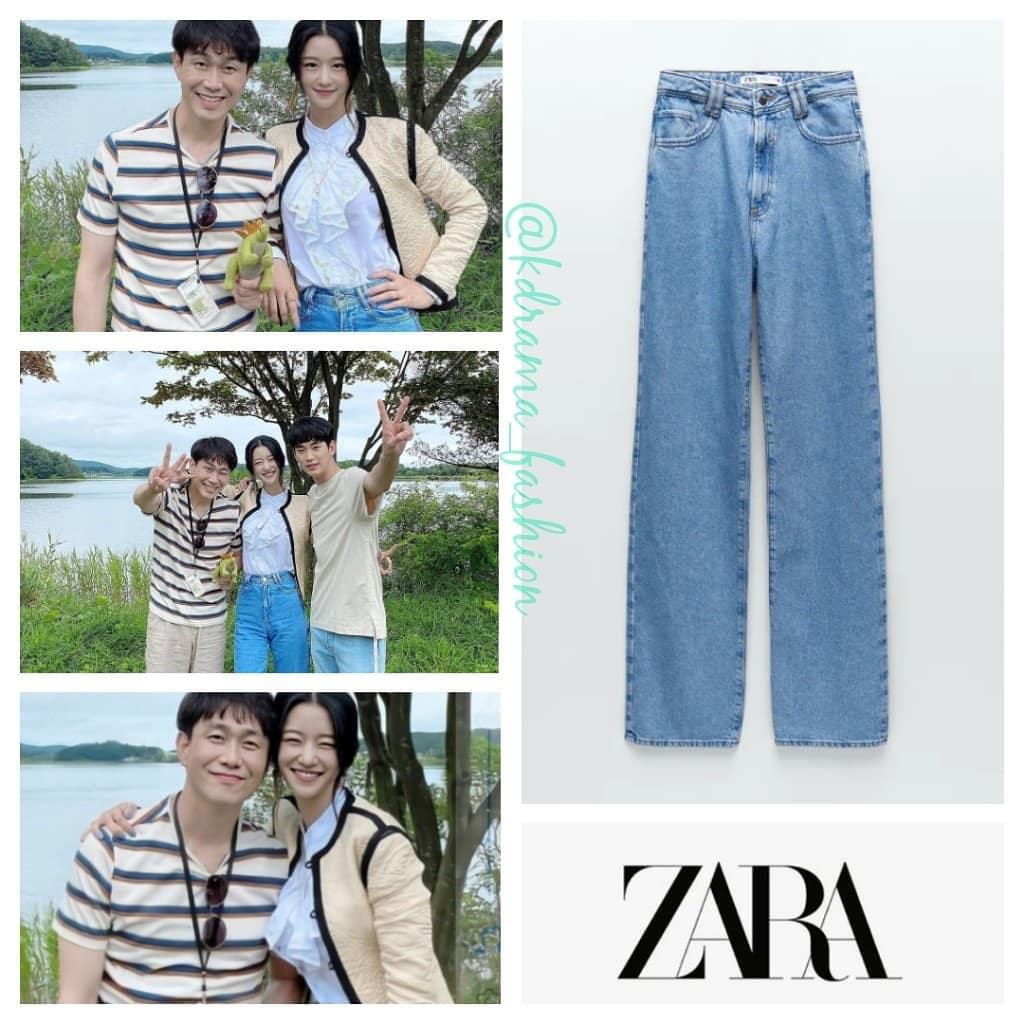 Mãi tập cuối mới xuất hiện item bình dân trong set đồ của  Seo Ye Ji: Chiếc quần jeans  Zara chị em nào cũng có thể sắm ngay mà không phải lo về giá - Ảnh 3.