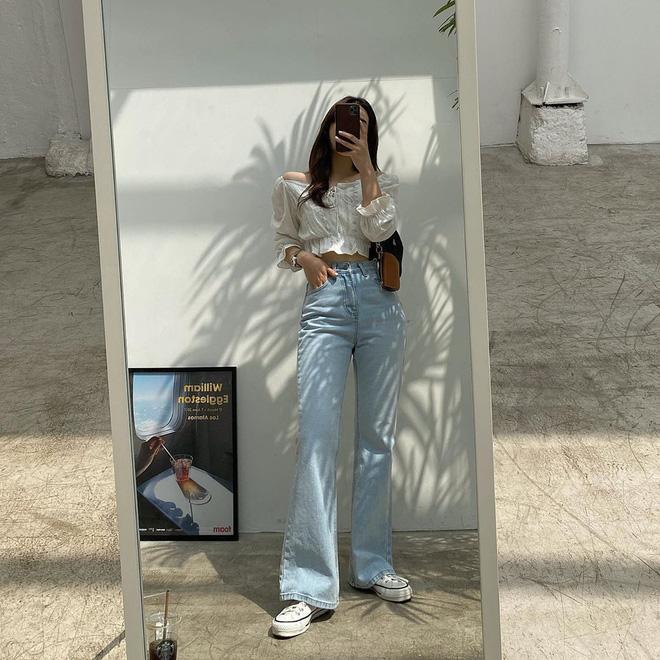 Item bình dân duy nhất trong set đồ của  Seo Ye Ji suốt cả bộ phim: Kiểu quần jeans hack chân dài cực đỉnh mà chị em nào cũng nên có - Ảnh 7.