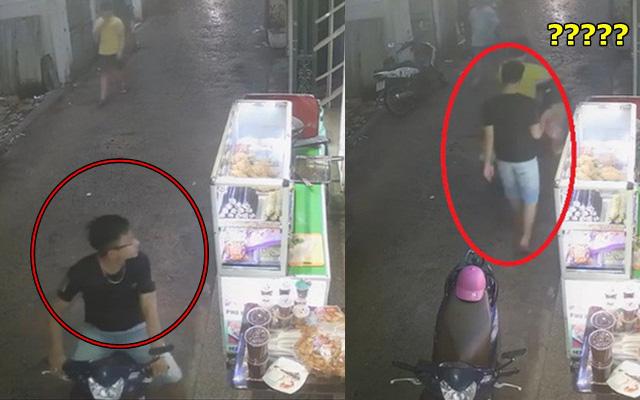 """Mượn xe máy của người yêu đi mua đồ ăn, chàng trai bỏ quên xe tại quán đến hôm sau thấy """"sai sai"""" nên hốt hoảng đi tìm"""