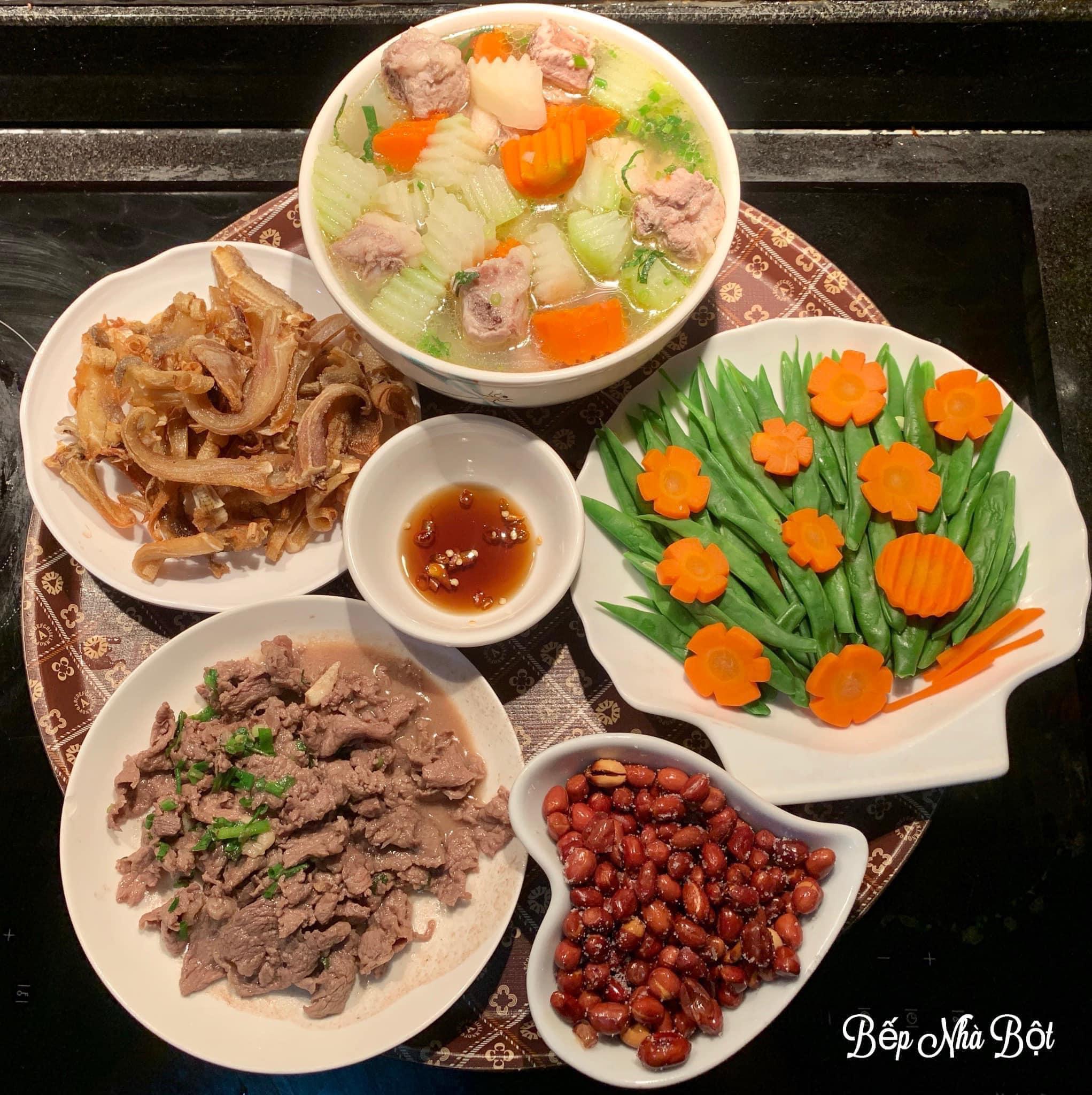 """Mâm cơm chỉ từ 120k của mẹ đơn thân Hà Nội khi coi """"Nấu ăn vì đam mê không phải là trách nhiệm"""" khiến ai nhìn cũng phải xuýt xoa - Ảnh 7."""