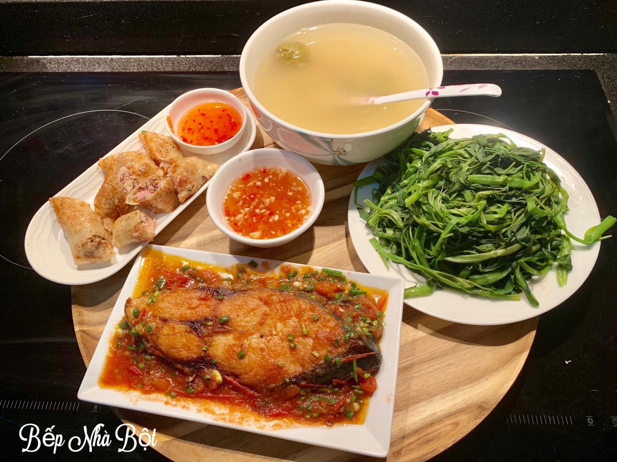 """Mâm cơm chỉ từ 120k của mẹ đơn thân Hà Nội khi coi """"Nấu ăn vì đam mê không phải là trách nhiệm"""" khiến ai nhìn cũng phải xuýt xoa - Ảnh 9."""