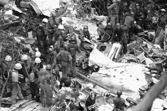 Chiếc máy bay gặp nạn 35 năm về trước khiến hơn 500 người chết bất ngờ xuất hiện trở lại làm dân Nhật hoang mang - Ảnh 4.