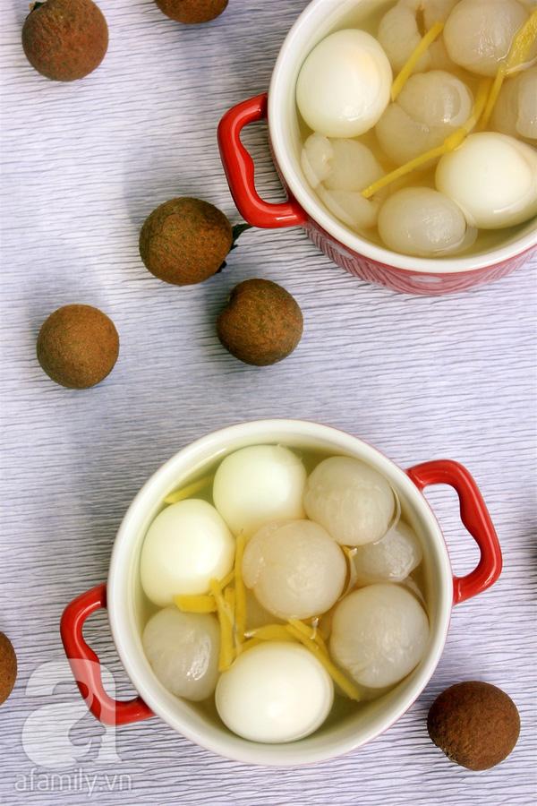 Mùa nhãn làm các món ngon từ nhãn, không chỉ có món ngọt quên thuộc mà còn có cả món mặn lạ  - Ảnh 6.