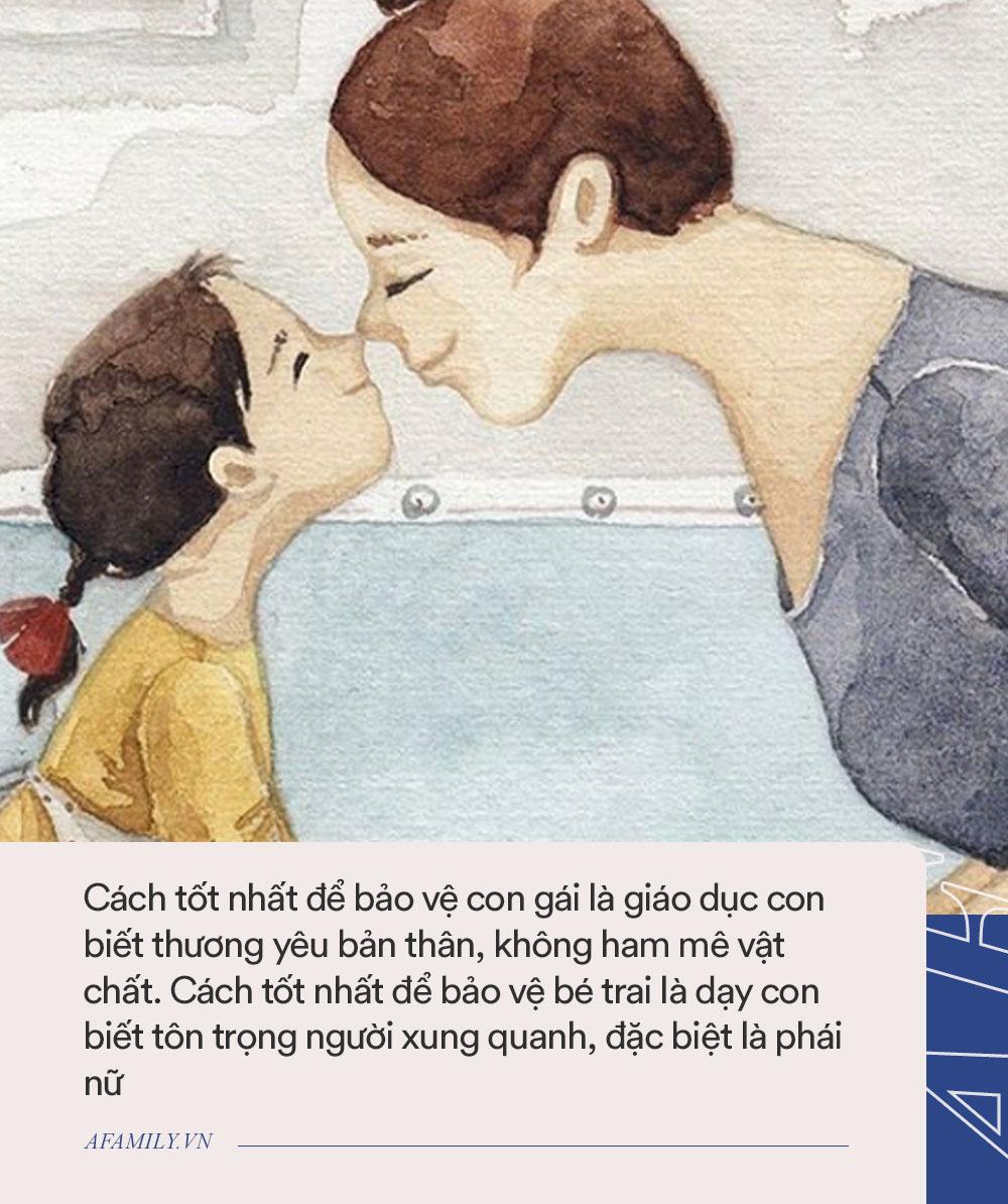 Từ vụ án nữ sinh 21 tuổi bị giết hại dã man, đây là những điều bố mẹ cần dạy cho cả con trai và con gái để những đứa trẻ được an toàn - Ảnh 2.