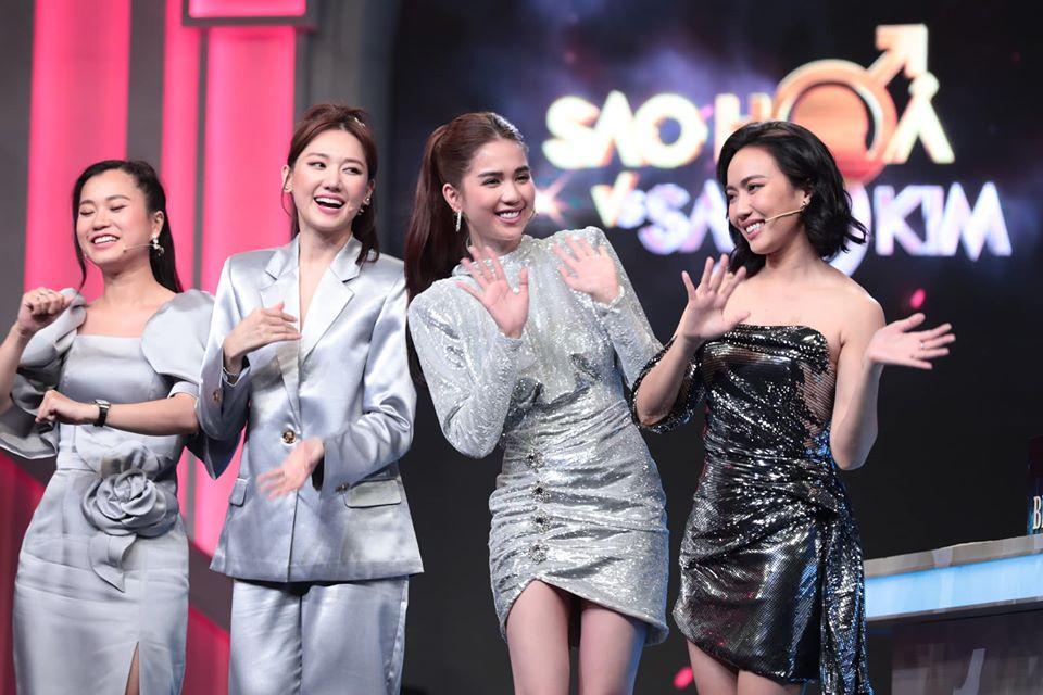 Xuất hiện trên truyền hình, Ngọc Trinh chơi chiêu hack dáng đến Hari Won còn lơ là - Ảnh 3.