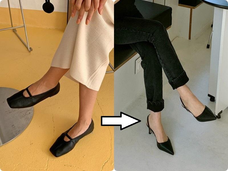 """Hết tuổi chạy theo những hot trend """"phù phiếm"""", chị em ngoài 30 sẽ cần một đôi mũi nhọn màu đen cho mọi set đồ của mình - Ảnh 2."""