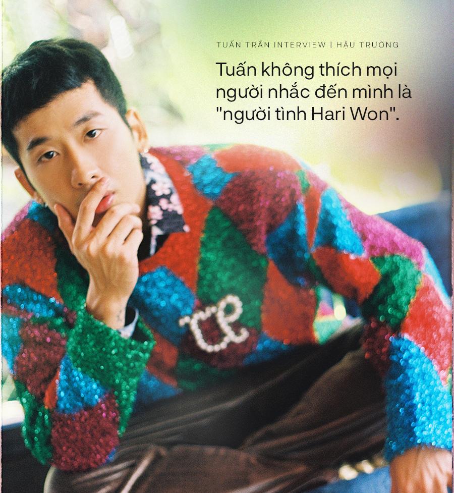 """Tuấn Trần: Cảm thấy không được tôn trọng khi bị gọi là """"người tình Hari Won"""", nhớ mãi câu nói của Trấn Thành với mình - Ảnh 4."""