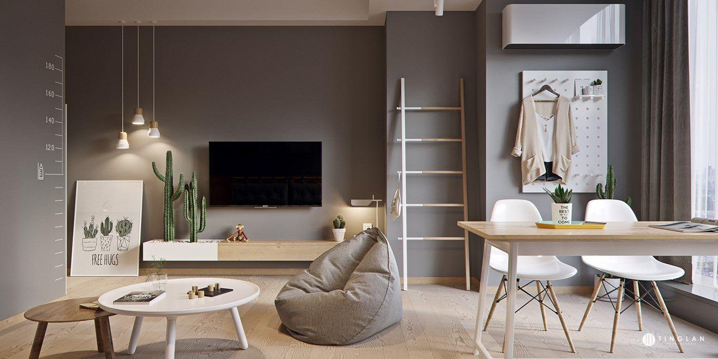 Đừng bỏ qua những ý tưởng này nếu bạn đang có dự định thiết kế một căn hộ studio nhỏ - Ảnh 14.