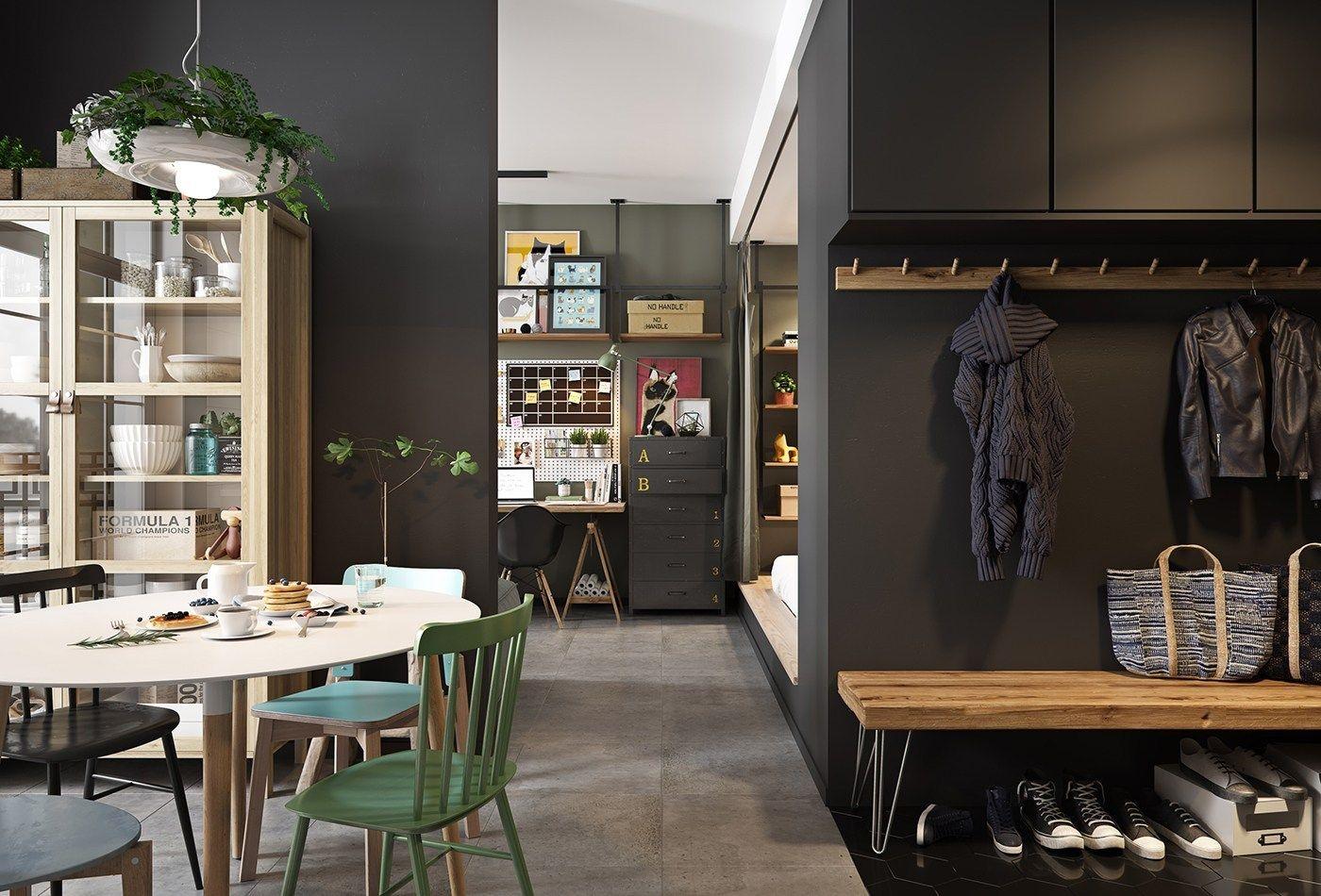 Đừng bỏ qua những ý tưởng này nếu bạn đang có dự định thiết kế một căn hộ studio nhỏ - Ảnh 16.