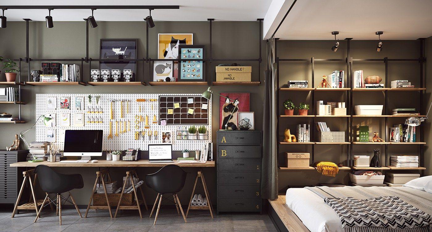 Đừng bỏ qua những ý tưởng này nếu bạn đang có dự định thiết kế một căn hộ studio nhỏ - Ảnh 18.