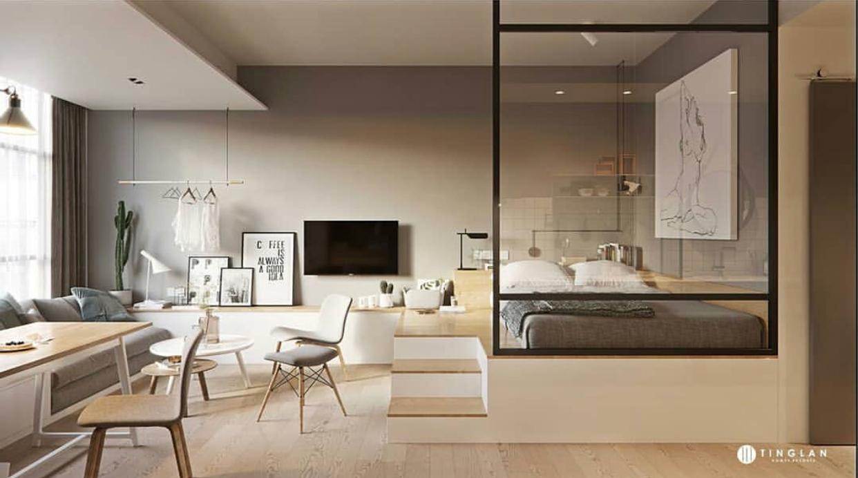 Đừng bỏ qua những ý tưởng này nếu bạn đang có dự định thiết kế một căn hộ studio nhỏ - Ảnh 4.