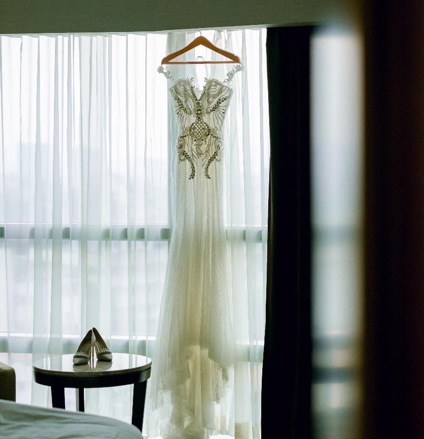 Trước khi bị phụ bạc, Âu Hà My từng sang như bà hoàng khi diện 3 mẫu váy cưới đính kim cương giá 1 tỉ đồng trong đám cưới cổ tích - Ảnh 8.