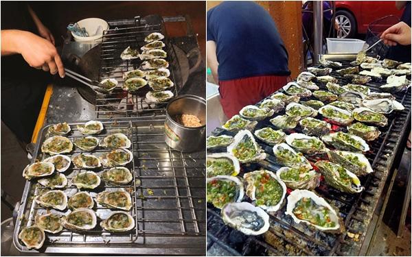 """Ẩm thực đường phố Hà Nội lại xuất hiện """"tân binh"""" gây sốt: Hàu nướng mỡ hành, phô mai 5k/con tràn ngập vỉa hè, ăn khác gì hàu nhà hàng 50k/con?"""