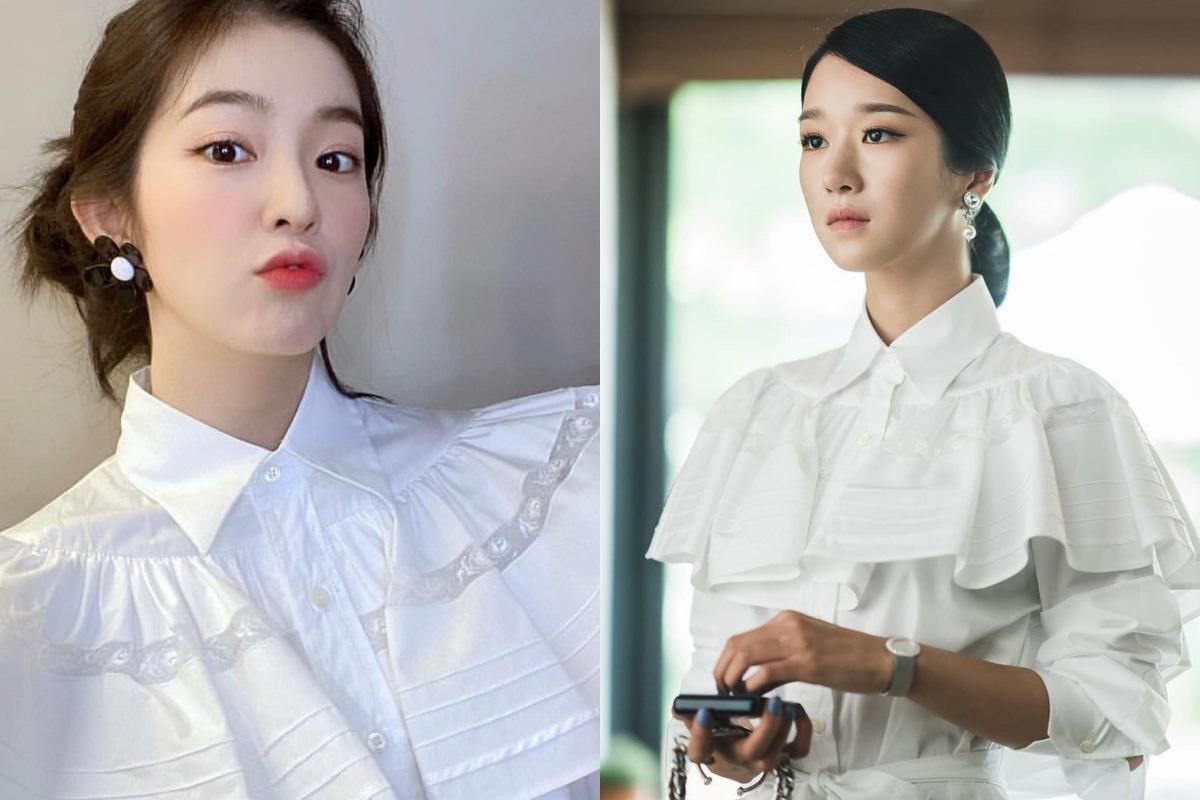 """Đụng váy với """"điên nữ"""" Seo Ye Ji mà Irene chẳng hề lép vế, thậm chí còn lất át về độ trẻ trung, sexy - Ảnh 8."""
