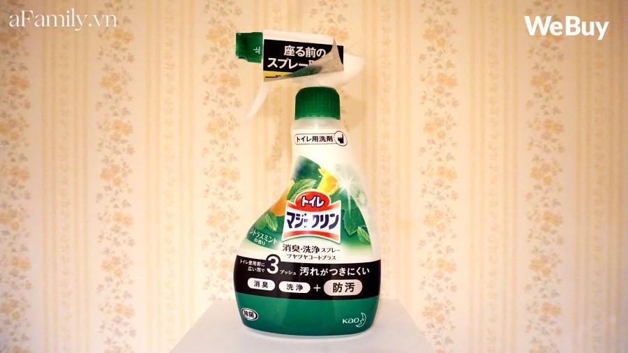 Ở với người Nhật nhiều năm, cô gái Việt học được loạt sản phẩm diệt khuẩn, loại bỏ mùi hôi nhà vệ sinh cực chất lượng - Ảnh 5.