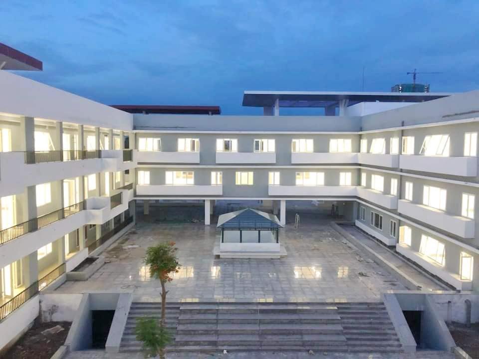 Hé lộ ảnh 1 ngôi trường chuyên sắp được khánh thành, xịn sò đến mức ai thấy cũng phải thốt lên: Trường học hay resort? - Ảnh 4.