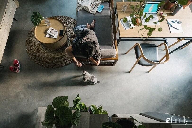 """Căn hộ 23m² xuống cấp được """"lột xác"""" thành không gian tiện nghi cho anh chàng độc thân có chi phí 200 triệu đồng ở quận Hoàn Kiếm, Hà Nội - Ảnh 8."""