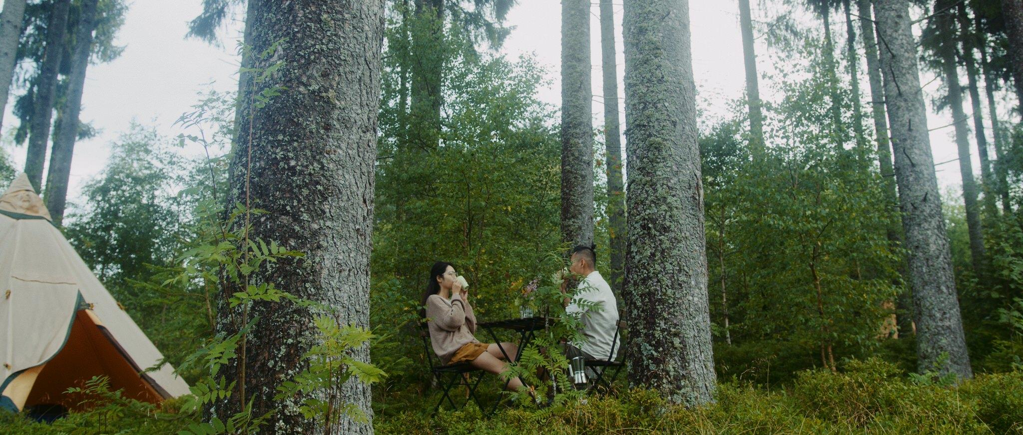 Bộ ảnh picnic trong Rừng Đen đẹp như cổ tích của gia đình Việt ở Đức giữa mùa dịch, vừa bình yên lại chẳng tốn kém nhiều - Ảnh 10.