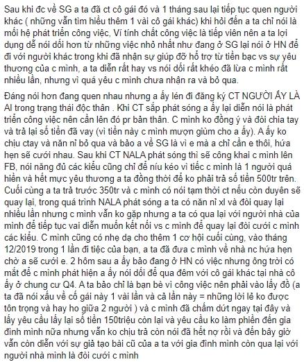 """""""Người ấy là ai?"""": Cực phẩm từng ra về với Hoa hậu Tường Linh bị bóc phốt lừa tình lẫn tiền của nhiều cô gái  - Ảnh 6."""