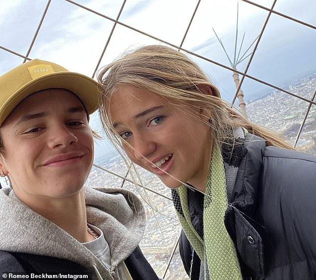 Bước sang tuổi 17, con trai thứ 2 của David Beckham chơi lớn khi tạo dáng tình tứ đầy táo bạo với bạn gái - Ảnh 3.