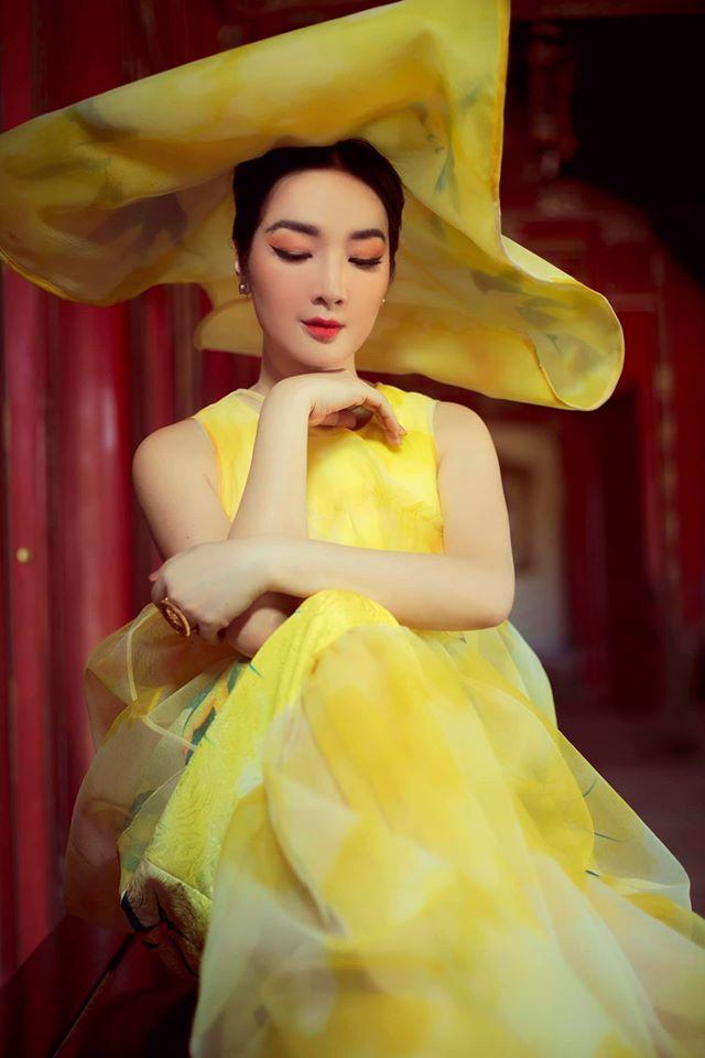 Hoa hậu Giáng My khoe nhan sắc tuổi 50 mỹ miều trong hoàng thành Đại nội Huế - Ảnh 1.