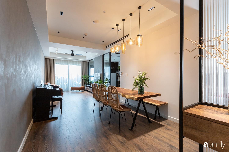 Căn hộ với chi phí phần nội thất gỗ có giá 200 triệu đồng đẹp cuốn hút theo phong cách tối giản ở Hà Nội - Ảnh 3.