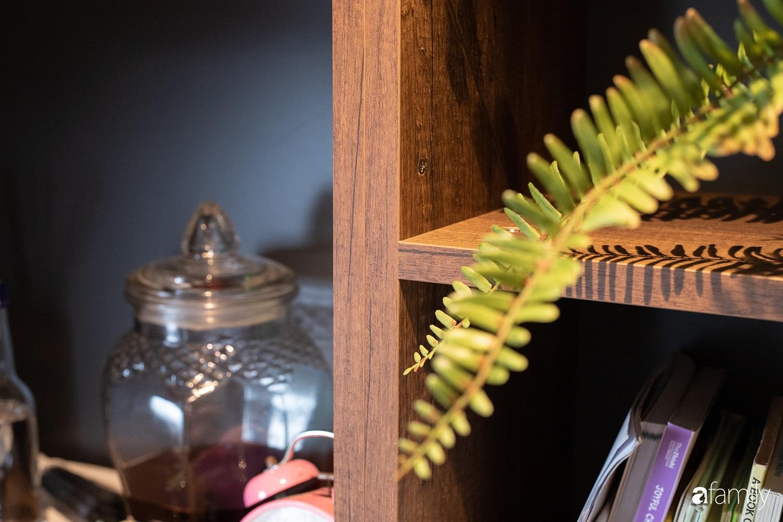 Căn hộ với chi phí phần nội thất gỗ có giá 200 triệu đồng đẹp cuốn hút theo phong cách tối giản ở Hà Nội - Ảnh 17.