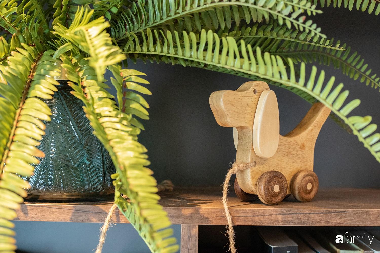 Căn hộ với chi phí phần nội thất gỗ có giá 200 triệu đồng đẹp cuốn hút theo phong cách tối giản ở Hà Nội - Ảnh 14.