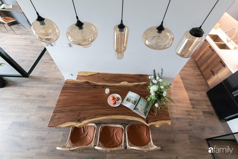 Căn hộ với chi phí phần nội thất gỗ có giá 200 triệu đồng đẹp cuốn hút theo phong cách tối giản ở Hà Nội - Ảnh 5.