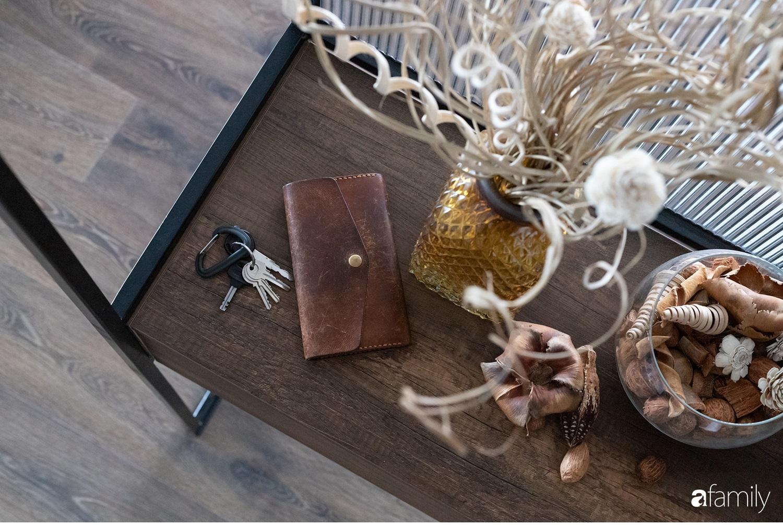Căn hộ với chi phí phần nội thất gỗ có giá 200 triệu đồng đẹp cuốn hút theo phong cách tối giản ở Hà Nội - Ảnh 20.
