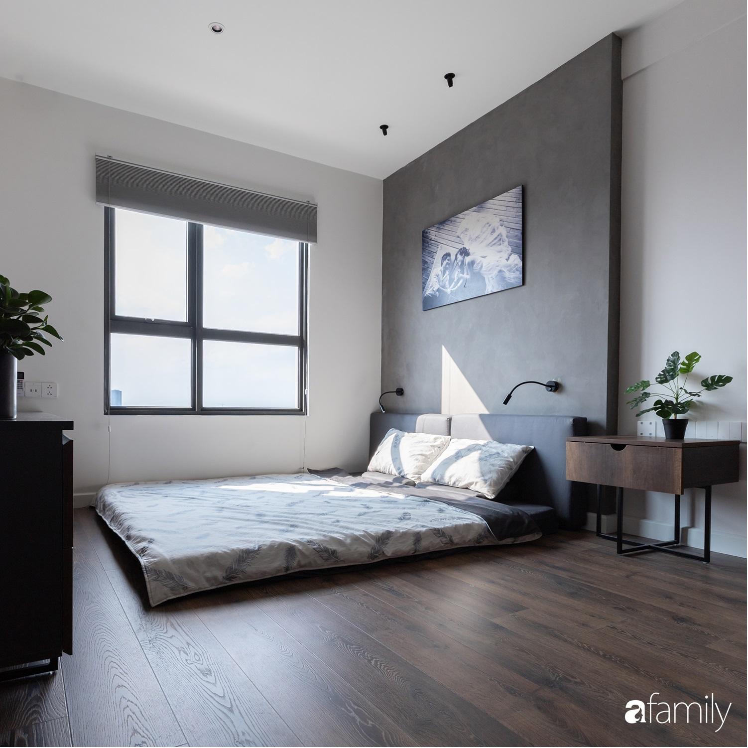 Căn hộ với chi phí phần nội thất gỗ có giá 200 triệu đồng đẹp cuốn hút theo phong cách tối giản ở Hà Nội - Ảnh 24.