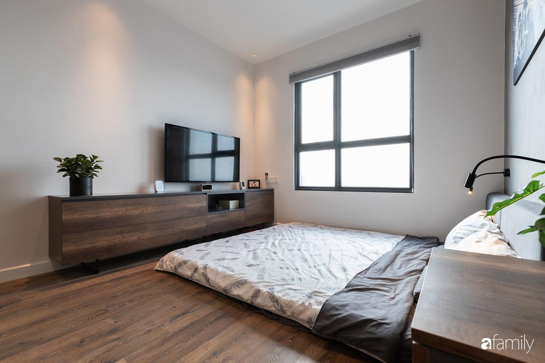 Căn hộ với chi phí phần nội thất gỗ có giá 200 triệu đồng đẹp cuốn hút theo phong cách tối giản ở Hà Nội - Ảnh 21.