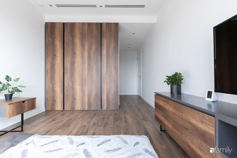 Căn hộ với chi phí phần nội thất gỗ có giá 200 triệu đồng đẹp cuốn hút theo phong cách tối giản ở Hà Nội - Ảnh 23.